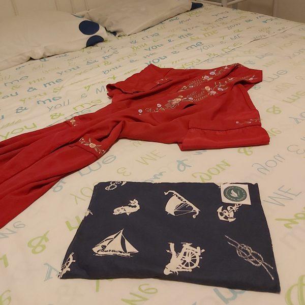 Almofada Terapêutica - Aquecer a cama - Azul